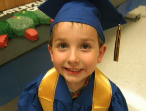 Henry after graduating in 2010!